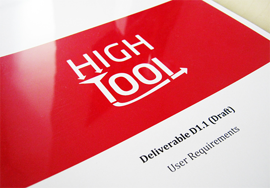 Picture of a High-Tool document